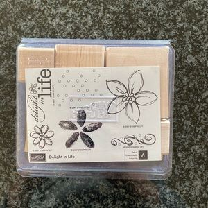 New Stampin Up Delight in Life Stamp Set